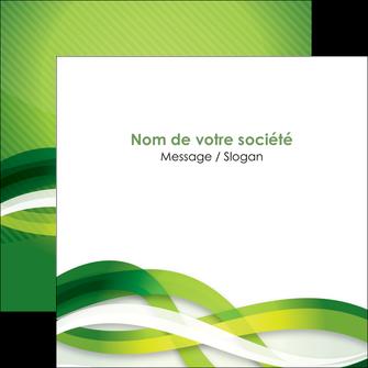 modele en ligne flyers vert verte fond vert MLGI64764