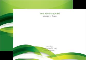 imprimerie flyers vert verte fond vert MLGI64766
