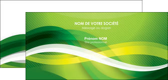 faire modele a imprimer carte de correspondance vert verte fond vert MLGI64770