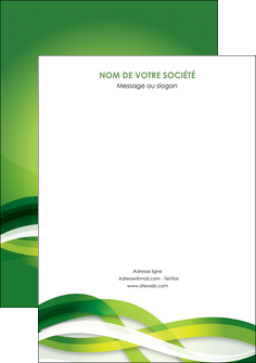realiser affiche vert verte fond vert MLGI64774