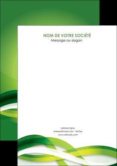 maquette en ligne a personnaliser flyers vert verte fond vert MLGI64778