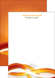 modele en ligne affiche orange colore couleur MLGI64810