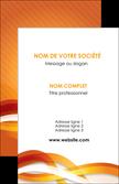 cree carte de visite orange colore couleur MLGI64813