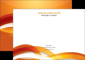 maquette en ligne a personnaliser affiche orange colore couleur MLGI64824