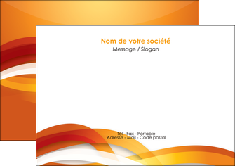 personnaliser modele de flyers orange colore couleur MLGI64826
