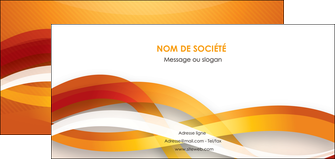 personnaliser modele de flyers orange colore couleur MLGI64838