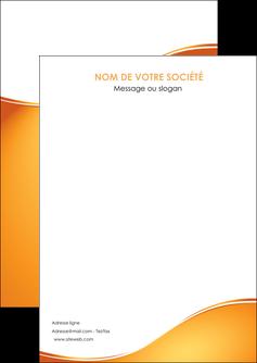modele en ligne flyers orange fond orange fluide MLGI65432