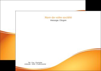 faire modele a imprimer flyers orange fond orange fluide MLGI65452