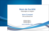 personnaliser maquette carte de visite bleu fond bleu pastel MLGI66666