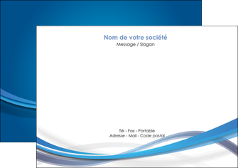 modele flyers bleu fond bleu pastel MLGI66690