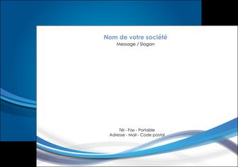 modele flyers bleu fond bleu pastel MIF66690