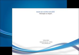 faire modele a imprimer flyers bleu fond bleu pastel MLGI66700