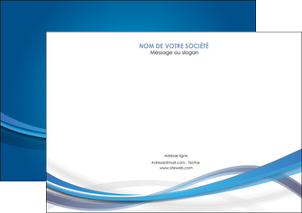 faire modele a imprimer flyers bleu fond bleu pastel MIF66700