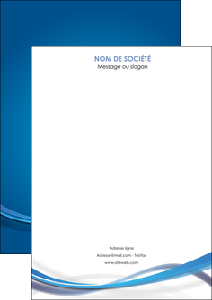 maquette en ligne a personnaliser affiche bleu fond bleu pastel MLGI66708