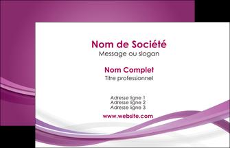 modele en ligne carte de visite violet violette abstrait MLGI66938
