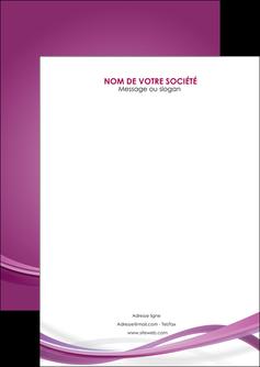imprimerie flyers violet violette abstrait MLGI66942