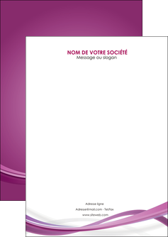 imprimerie flyers violet violette abstrait MIF66942