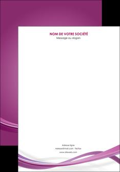 creation graphique en ligne affiche violet violette abstrait MLGI66944