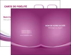 cree carte de visite violet violette abstrait MLGI66948