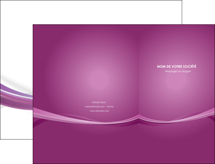 imprimer pochette a rabat violet violette abstrait MLGI66950