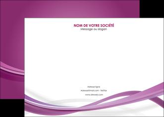impression affiche violet violette abstrait MLGI66958