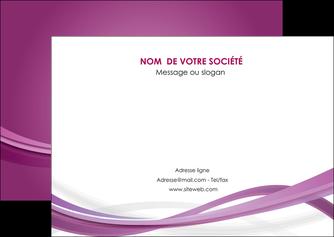 imprimerie flyers violet violette abstrait MLGI66966