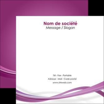 impression flyers violet violette abstrait MLGI66970