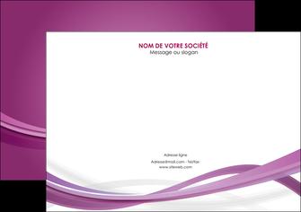 maquette en ligne a personnaliser flyers violet violette abstrait MIS66972