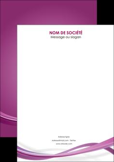 faire modele a imprimer flyers violet violette abstrait MIS66984