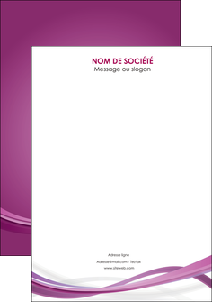 faire modele a imprimer flyers violet violette abstrait MLGI66984