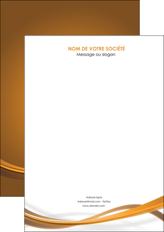 exemple affiche marron marron chocolat couleur MIF67050