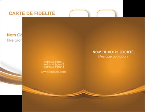 Imprimerie Carte De Visite Marron Chocolat Couleur MLGI67052