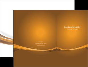 faire modele a imprimer pochette a rabat marron marron chocolat couleur MIF67054