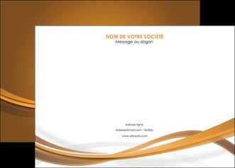 creer modele en ligne affiche marron marron chocolat couleur MIF67062