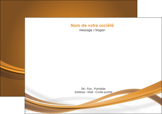 exemple flyers marron marron chocolat couleur MIF67066