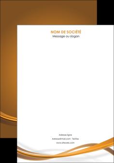 imprimerie affiche marron marron chocolat couleur MIF67084