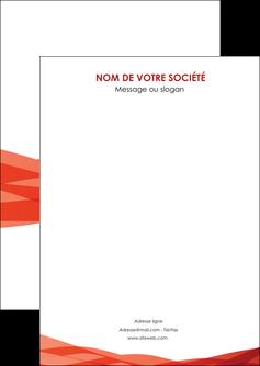 personnaliser modele de flyers rouge couleurs chaudes fond  colore MLGI67108