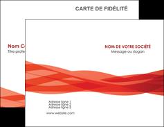 personnaliser maquette carte de visite rouge couleurs chaudes fond  colore MLGI67114