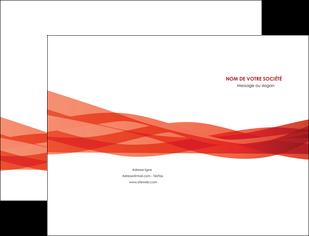 modele en ligne pochette a rabat rouge couleurs chaudes fond  colore MLGI67116