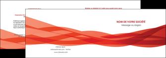 impression depliant 2 volets  4 pages  rouge couleurs chaudes fond  colore MLGI67120