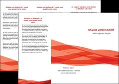 creer modele en ligne depliant 3 volets  6 pages  rouge couleurs chaudes fond  colore MLGI67130
