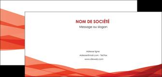 personnaliser modele de flyers rouge couleurs chaudes fond  colore MLGI67140