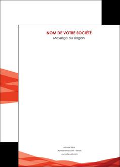modele en ligne affiche rouge couleurs chaudes fond  colore MLGI67148