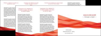 faire modele a imprimer depliant 4 volets  8 pages  rouge couleurs chaudes fond  colore MLGI67152