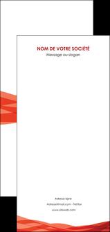 maquette en ligne a personnaliser flyers rouge couleurs chaudes fond  colore MLGI67154