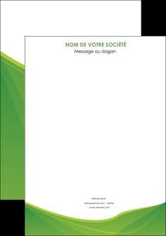 exemple affiche espaces verts vert fond vert couleur MLGI67158