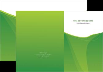 modele en ligne pochette a rabat espaces verts vert fond vert couleur MLGI67168