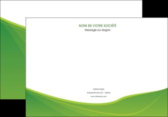 maquette en ligne a personnaliser affiche espaces verts vert fond vert couleur MLGI67178