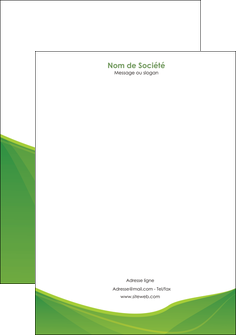 exemple tete de lettre espaces verts vert fond vert couleur MLGI67188