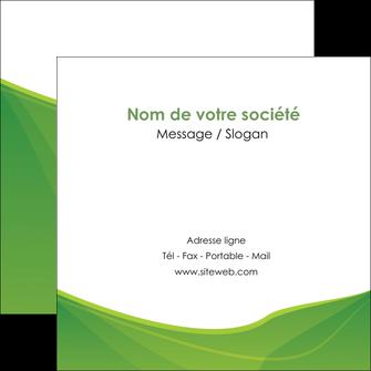 imprimer flyers espaces verts vert fond vert couleur MLGI67190